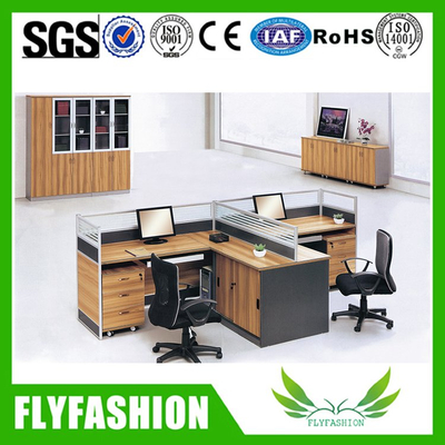 Customized Modern Designs Office Staff Table(PT-34)
