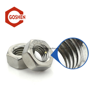304 stainless steel fine thread hex nuts DIN934