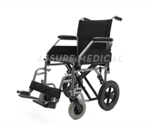 YJ-005QGG Steel transit wheelchair