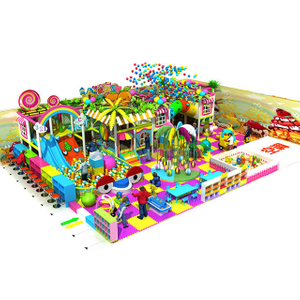 Candy Theme Kids Soft Indoor Playground for Family Center