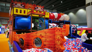 Ship Theme Indoor Playground Exhibition