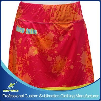 Custom Sublimation Lacrosse Women Clothes for Border Skirt