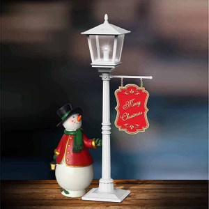 Christmas table lamp mini led street light