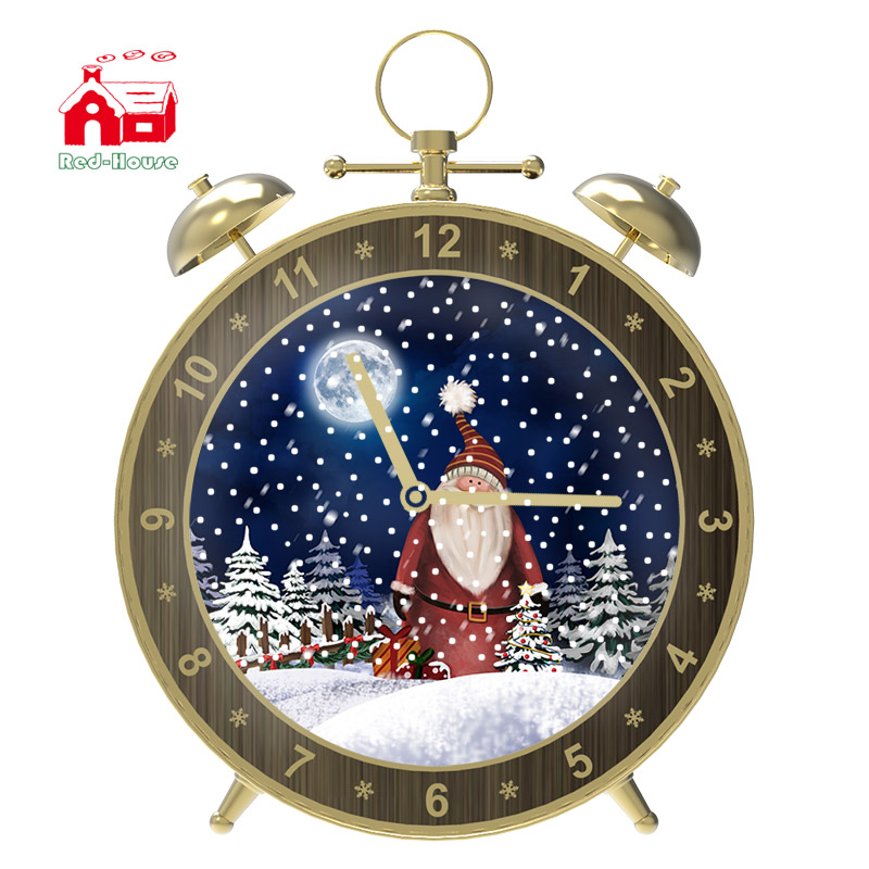 Chrismas Lights Musical Alarm-Clock Best Gifts for your Boyfriend or Girlfriend