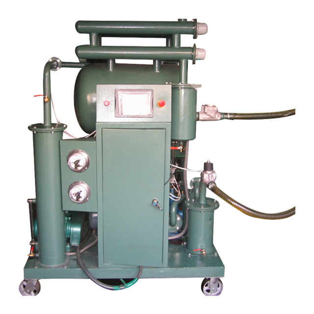 ZY-A PLC control fully automatic vacuum transformer oil purifier