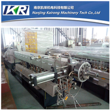 TSE-40 Wood Plastic Compound Machine Granules Making Lab Twin Screw Extruder