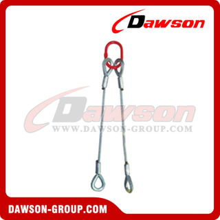 Double-Leg Swaged Sling Assembly