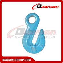 G100 / Grade 100 Eye Shortening Grab Hook, Lifting Eye Safety Hook For Chain