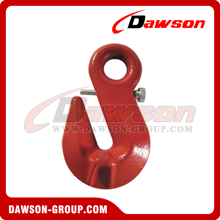 DS317 EYE SHORTENING GRAB HOOK WITH SAFETY PIN - DAWSON GROUP LTD. - CHINA MANUFACTURER