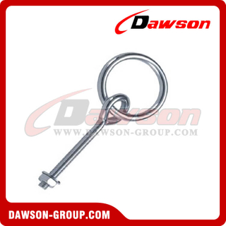 Screw Bolt With Ring Zinc Plated