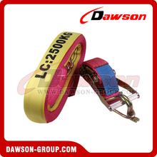 AS/ NZS 4380.2001 Ratchet Tie Down Strap