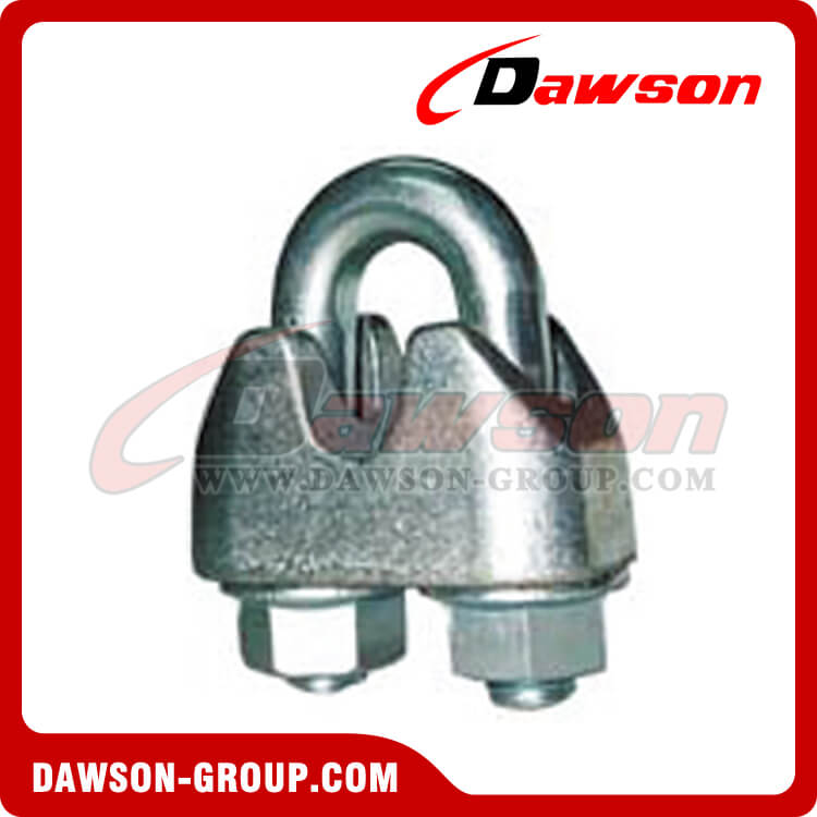 Din 1142 Galv. Malleable Wire Rope Clip, Galvanized Drop Forged ...