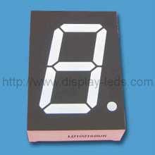 1 inch dual color 7 segment LED Display