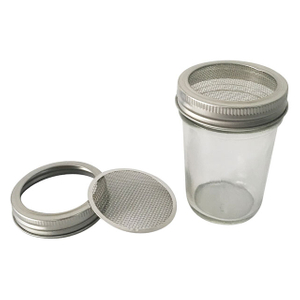 Mason Jar Screen Mesh Lid