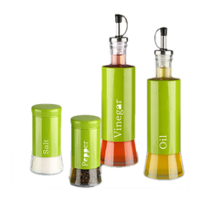 Vinegar Oil & Spice Set