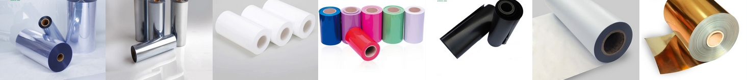 PVC / PET / PP / PS / PC / PE film kaku