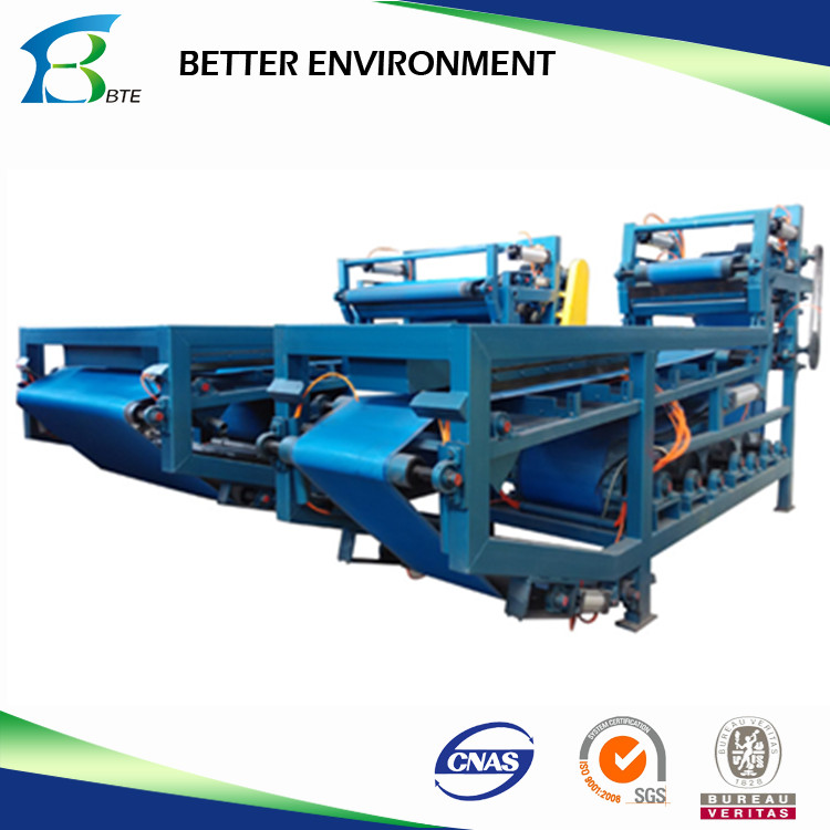 Belt Filter Press for Sludge Dewatering