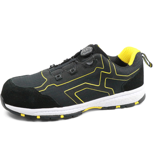 Cemented Oil Resistant Anti Slip Metal Free Sport Type Safety Shoes Composite Toe