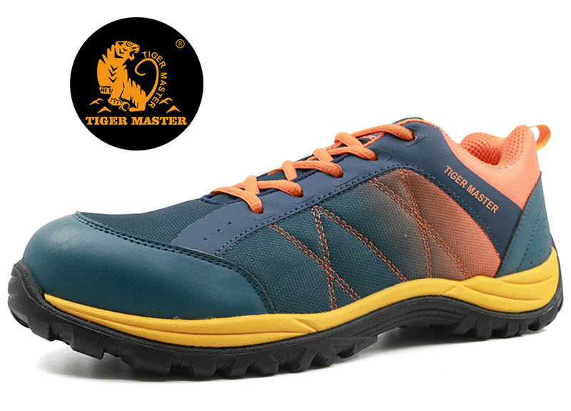 Light weight fashionable sport type safety shoes CE certification