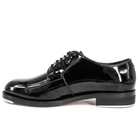 MILFORCE 1206 formal black patent leather police office shoes