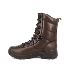 Brown hunting UK full leather boots 6224