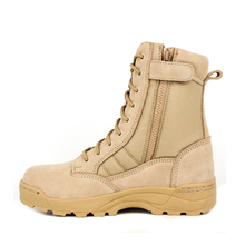 Men khaki fashion desert boots for summer 7257