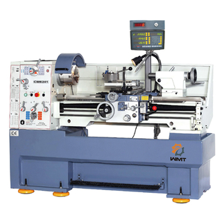 Metal Lathe CM6241- Swing 410mm High Precision Metal Horizontal Gap Bed Turning Lathe