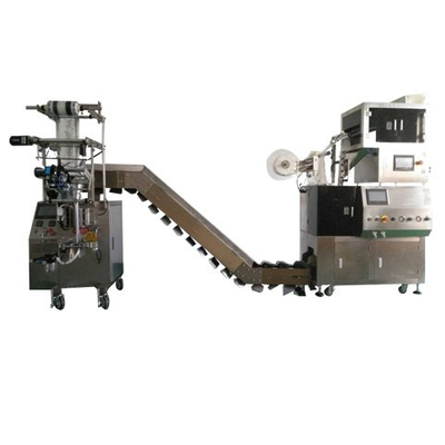 Nylon pyramid type/square bags type inner and outer Packaging Machine-Model:XY800SJ-4T(6head electronic scales)