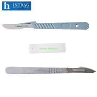 Disposable Stainless Steel Surgical Scapels