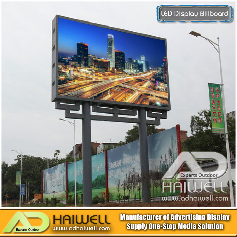 China Supplier Outdoor Digital DIP LED Module Advertising Billboard Structure