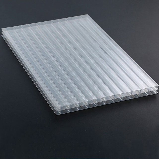 Transparent PP hollow sheet