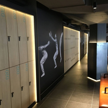 High-end Brikley Phenolic Lockers For Gym