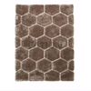 5'×8' Contemporary Brown Shag Carpet Decor Area Rug