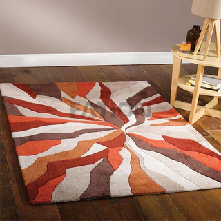 Hot Sell Special Design Acrylic Carpet Decor Floor Area Rug