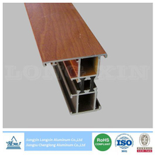 Wood Grain Thermal break Insulation Aluminum window frame
