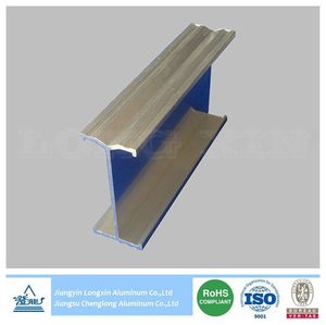 Silver Anodizing Aluminum Profile for Construction