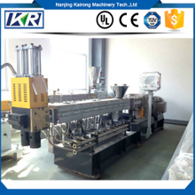 Parallel Co-rotating Twin Screw PET Flakes Granulating Extruder Machine Line Plastic Compound Machine