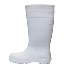 Water Proof Oil Acid Resistant Non Slip Steel Toe PVC Safety Gumboots for Food Industry