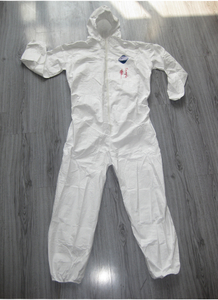 Disposable protective work coverall