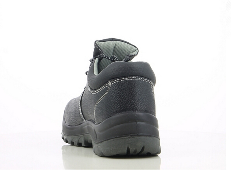 Buffalo split embossed leather safety jogger sole safety shoes