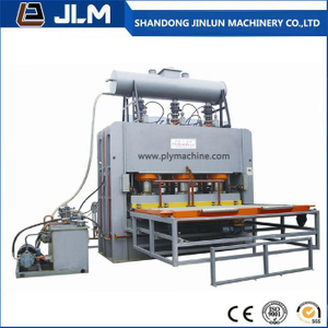 Hot Sale 1200 T 4*8 Short Cycle Melamine Hot Press Machine for Sticking The Face Veneer