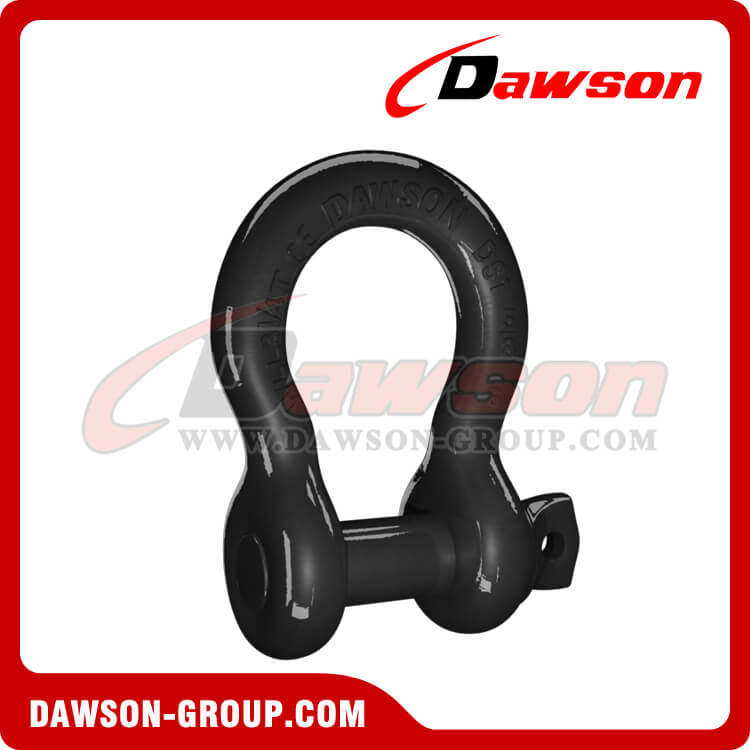 US Type Bow Shackle with PU Protection for Towing Strap, Drop Forged Shackle - China Supplier, Manufacturer