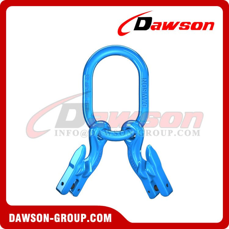 G100 Master Link + G100 Eye Grab Hook with Clevis Attachment × 2 - Dawson Group Ltd. - China Manufacturer,Supplier