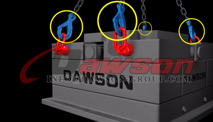 Application of G100 Special Clevis Self-locking Hook with Grip - China Manufacturer