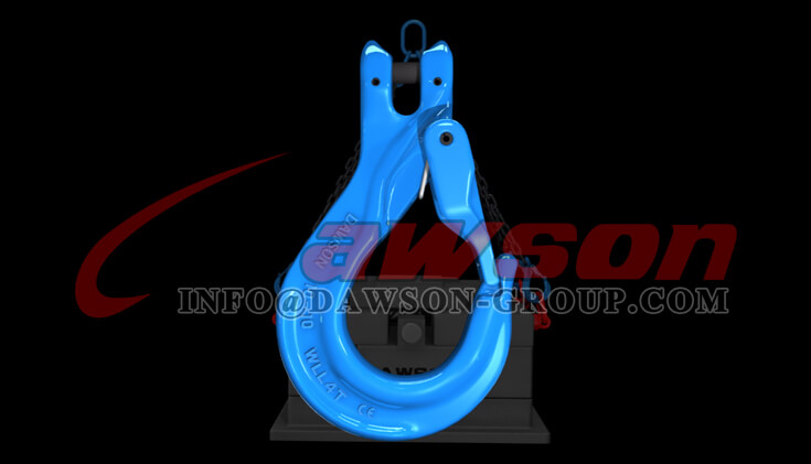 Application of Grade 100 Clevis Sling Hook with Cast Latch, G100 Clevis Hook - Dawson Group - China Factory