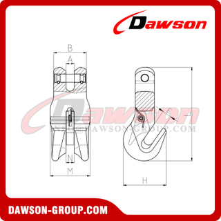 DS301 G80 Clevis Clutch for Adjust Chain Length