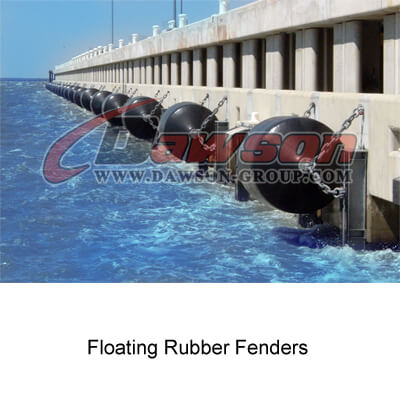 Application of Marine Rubber Fenders