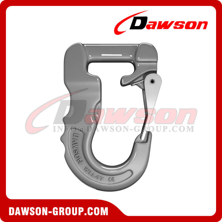 Grade 100 Web Sling Hook, G100 Synthetic Alloy Round Sling Hook 4T - Dawson Group Ltd. - China Supplier