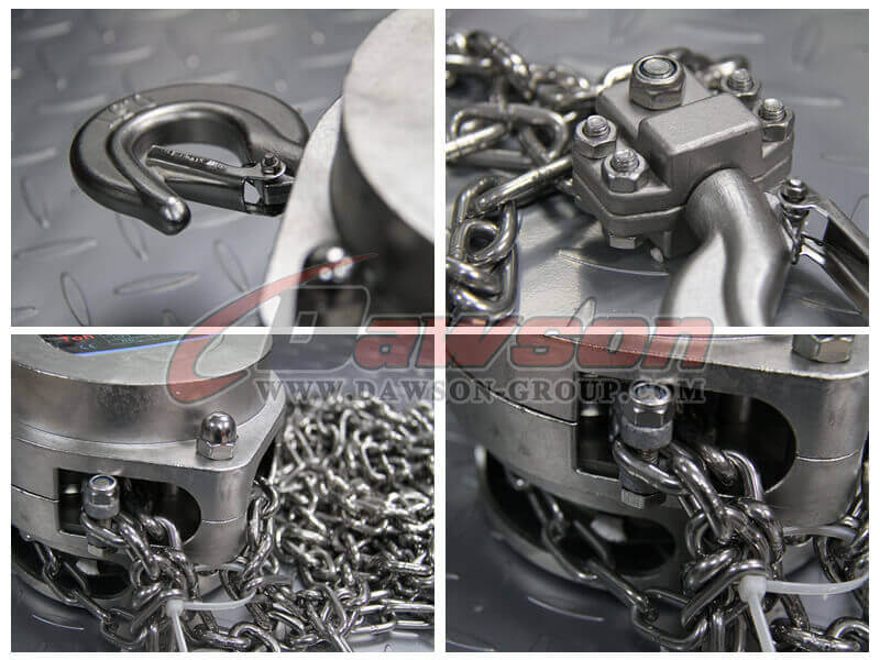 China Stainless Steel Chain Hoist - China Factory