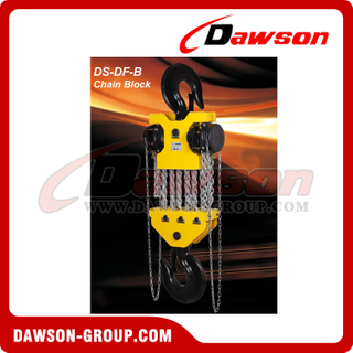 DS-DF-B 15T, 20T, 30T Chain Hoist, Chain Block for Lifting Goods